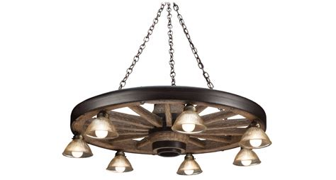Glass Chain Chandelier Large Wagon Wheel Chandelier With Downlights Cast Horn