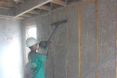 cellulose insulation walls