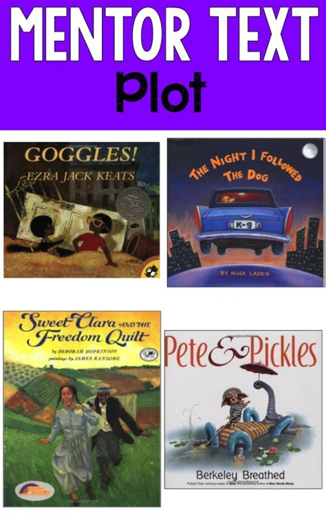 picture books to teach plot reading mentor texts ashleigh s education journey