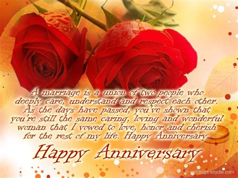 25th Wedding Anniversary Wishes Or Messages by Wedding Anniversary Messages For Wordings And Messages