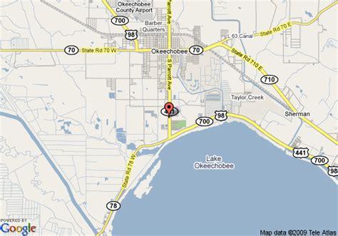 lake okeechobee florida map map of best western lake okeechobee okeechobee