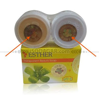 Bedak Esther Yg Asli esther whitening s m sabun esther pemutih wajah