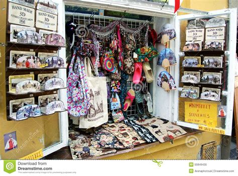souvenir shop display prague editorial image image of