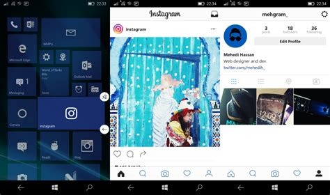 q design instagram instagram 8 0 for windows 10 mobile now available with a