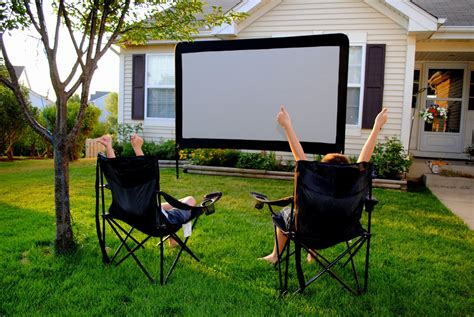 backyard home theater backyard outdoor home theater omgcoolgadgets