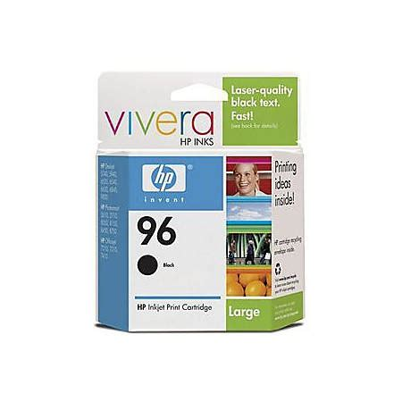 Hp 96 Black Ink Cartridge hp 96 black ink cartridge c8767wn by office depot officemax