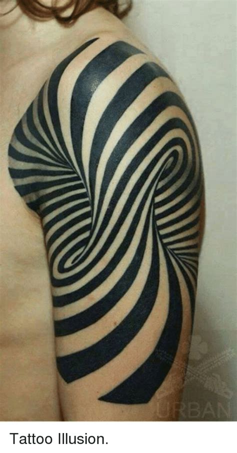 tattoo illusion meme on sizzle