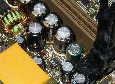 what causes bulging capacitors bad capacitors information and symptoms