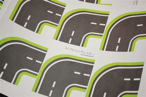 printable road best photos of printable road for cars toy car road map