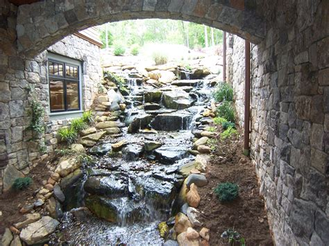 waterfall house water fall for the home bill house plans