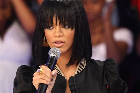 Rihanna Sports Some Killer Heels At Bets 106 Park In New York by Rihanna Photos Photos Bet 106 Park Presents