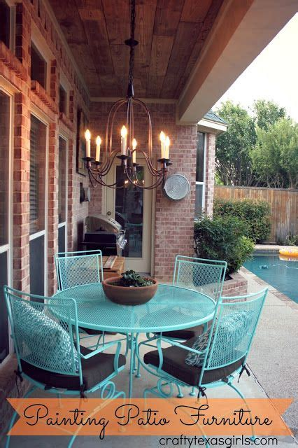 easy ideas  updating  patio furniture crafty