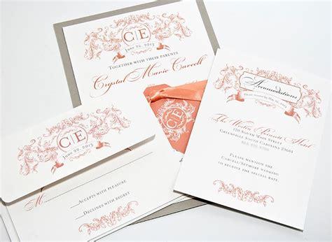Wedding Invitations Columbia Sc by Wedding Invitations Columbia Sc Columbia Printing