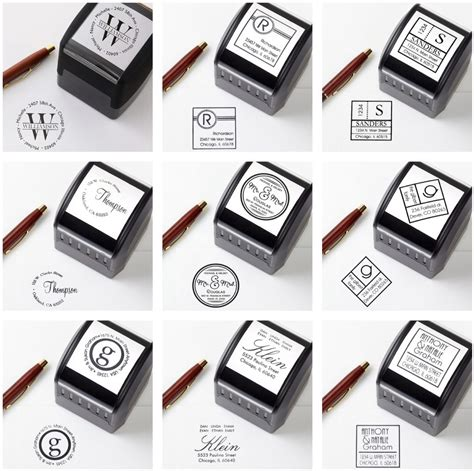 Handmade Rubber Sts - custom self inking sts 100 images personalised sts for