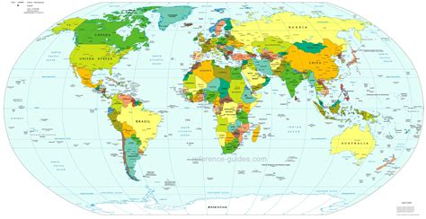 on world map world map free large images