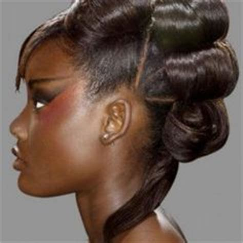 roll hairstyle for black relaxed roll roll hairstyle 90s