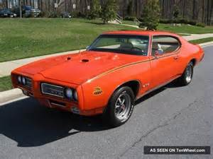 1969 Pontiac Judge 1969 Pontiac Gto Judge