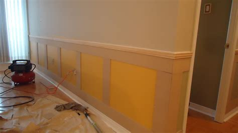 Mdf Wainscot adding elegance with wainscoting small space style