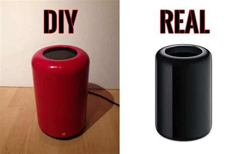 diy pro german modder builds apple mac pro replica from a trashcan