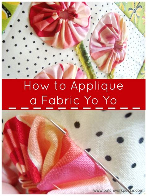 How To Make Yo Yos For A Quilt by How To Applique Yo Yos Posies Quilt Block