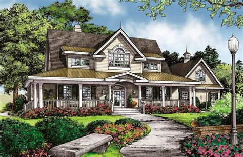 Wrap Around Porch Home Plans by Southern House Plans With Wrap Around Porches Jburgh