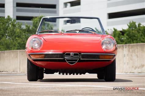 1971 alfa romeo spider driversource motorcars