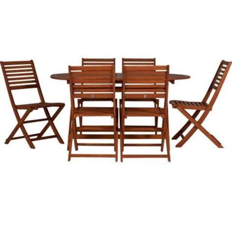 6 seater large garden patio table and chairs set 163 129 99