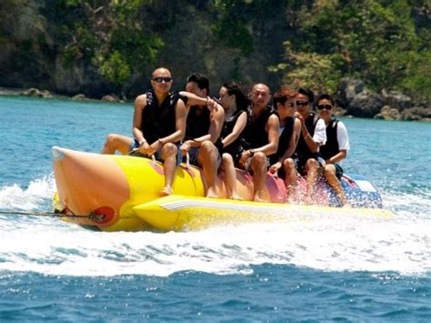 banana boat ride in goa world oceans day bali travel guide