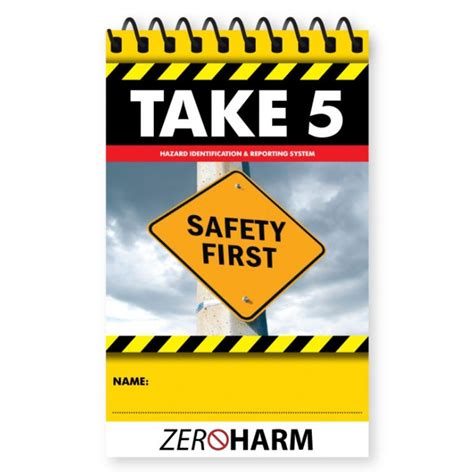 search for safety book report take 5 book