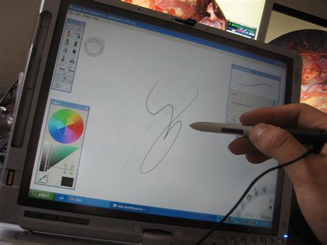 sketchbook x for pc the loop tablet pc the official review