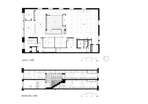 Large House Floor Plan Gallery Of Box Office Cox Architecture 13