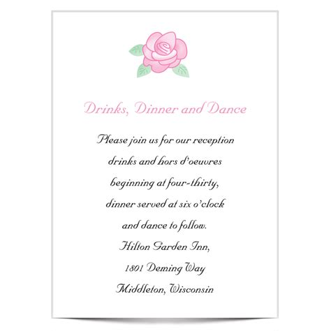 Wedding Invitation Wording Styles by Wedding Reception Invitation Wording Theruntime