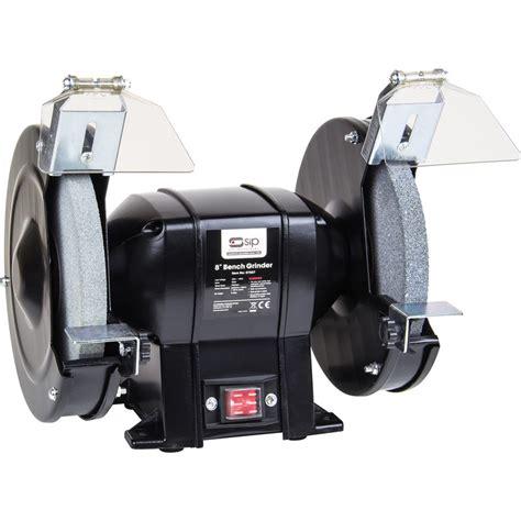 toolstation bench grinder sip 07557 350w 8 quot bench grinder 230v toolstation
