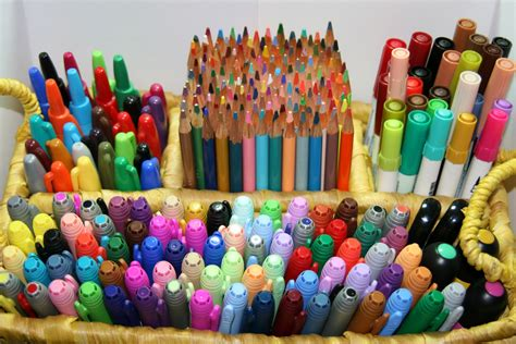 markers and colored pencils s creative corner marker and colored pencil holder