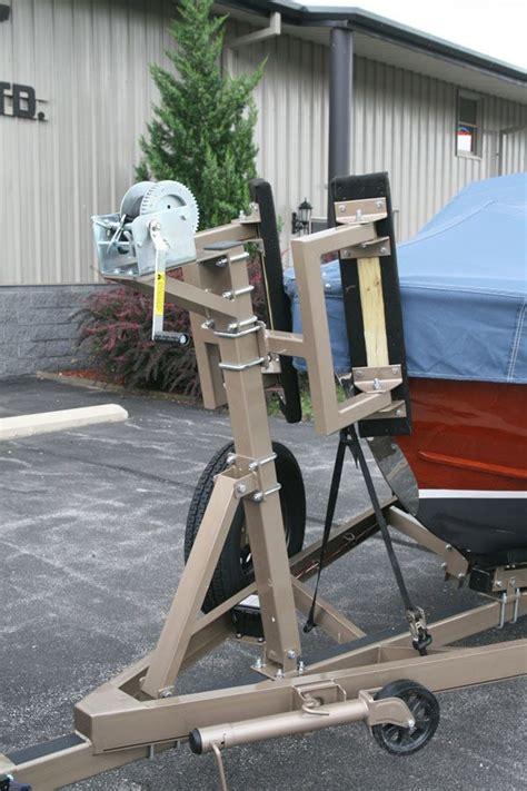 boat trailer roller ladder bow stops
