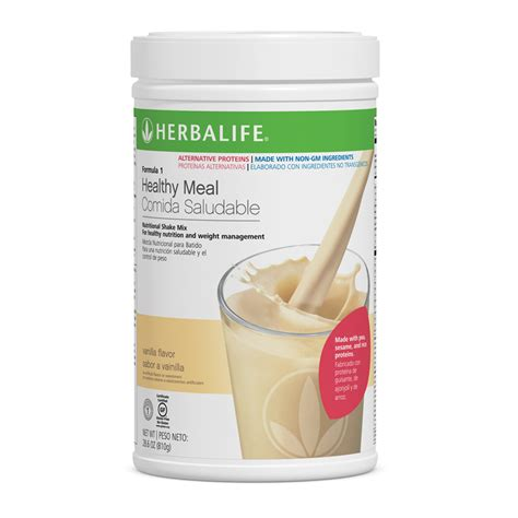Shoo Herbalife formula 1 herbalife shake 810g with fiber 21 vitamins and minerals