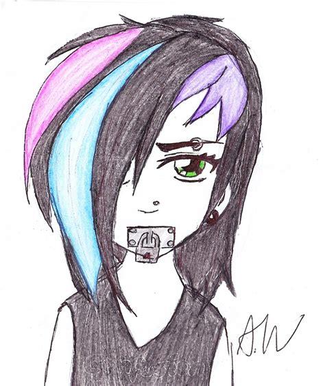 imagenes de anime emo girl anime emo girl by magicmushroomx on deviantart