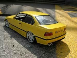 bmw m3 e36 jaune wheels racing hart ut models diecast