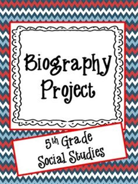 biography project ideas for 5th grade facepage biographies students make facepages for