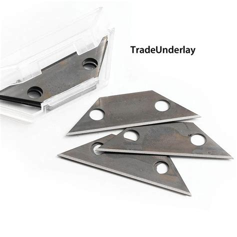 Buy Loop pile blue carpet cutter blades x 100