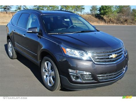 what color is tungsten metallic 2014 tungsten metallic chevrolet traverse ltz 88920712