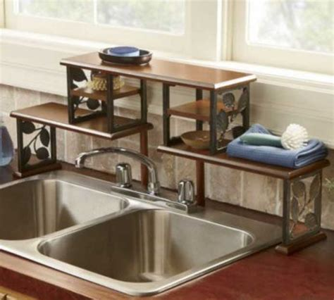 the kitchen sink shelf decorative the sink shelf organizer