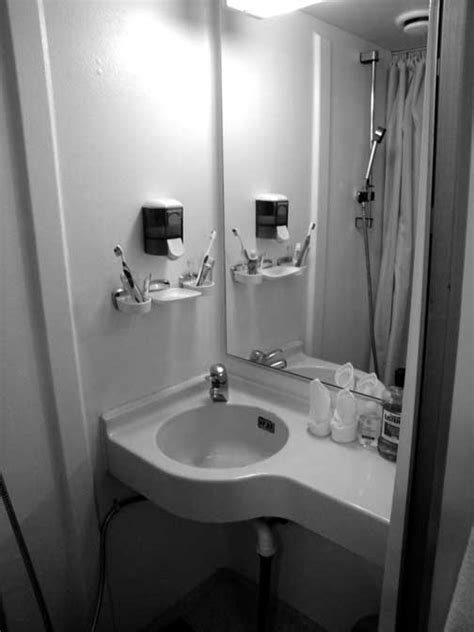 how to cruise in a bathroom bathrooms on cruise ships interior design company