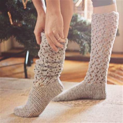 crochet socks pattern video 15 crochet knit pattern for knee socks diy to make