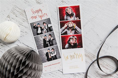 photo booth layout maker holiday sparkle photo booth templates are here design aglow