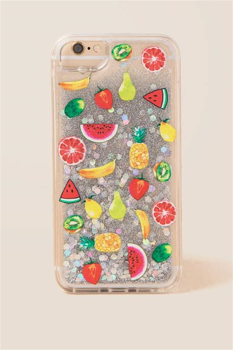 Fruit Iphone For 6 S fruits glitter iphone 6 7 8 s