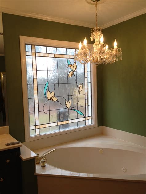 window film for bathroom decorative glass windows with decoration master bathroom