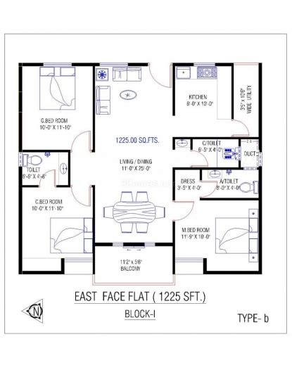 3bhk keralahouseplanner inspiring north face house plans in kerala with photos