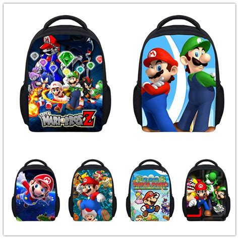 Supersale Kidsbag aliexpress buy children school bags mario bros backpack students