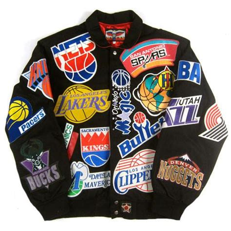 Nba Basketball Jackets Nba Basketball Jackets By Jh Design | vintage jeff hamilton nba jacket nwt nba basketball for